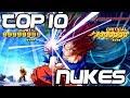 TOP 10 NUKES IN DOKKAN BATTLE Dragon Ball Z Dokkan Battle