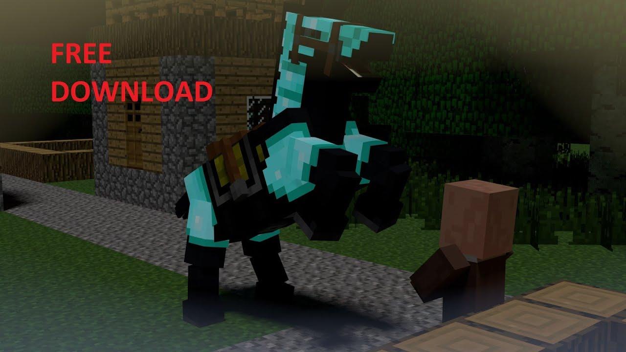 Minecraft Animation Wallpaper Minecraft Multi Type Horse Rig Free Download Blender2