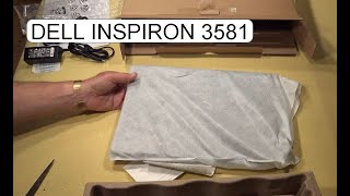 UNBOXING DELL INSPIRON 3581