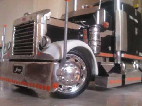 "Trucks PETERBILT ""Perla Negra"" A Escala - YouTube"