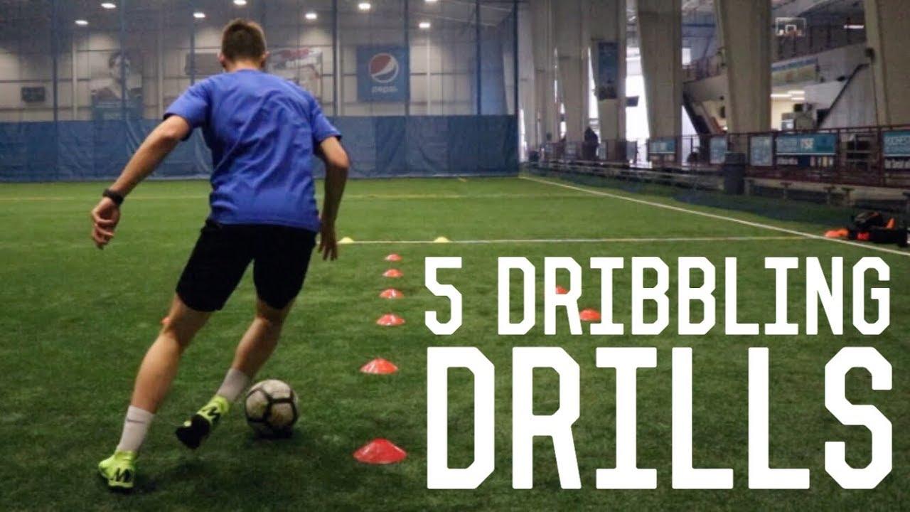 5 Individual Dribbling Training Drills   Training Inspired By Messi, Neymar, Ronaldo