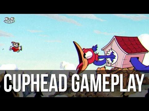 Новый геймплей Cuphead: управление, магазин, битва с боссом