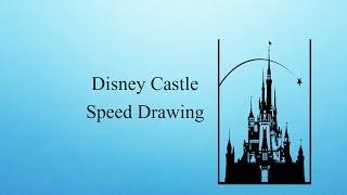 Disney Castle Speed Drawing