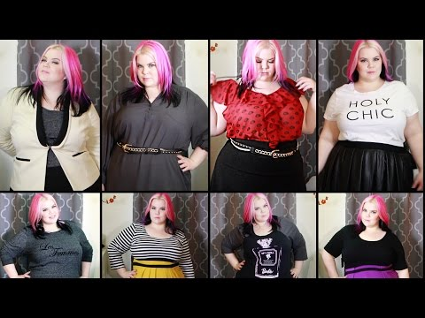 Plus Size Fashion Try-On Haul: Eloquii, Target, Modcloth Torrid & Old Navy.