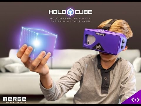 Handheld Holograms!  New Merge VR Holo Cube Toy at Pax South 2017 AR Virtual Augmented Reality Game