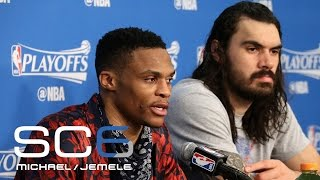 Michael Smith Defends Russell Westbrook Over Reporter | SC6 | April 24, 2017