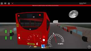 Roblox London Hackney & Limehouse bus Simulator E200 (euro 6) CSG CTP on Route 309 to Stepney