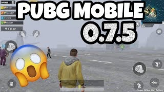 HOW TO DOWNLOAD PUBG  MOBILE 0.7.5