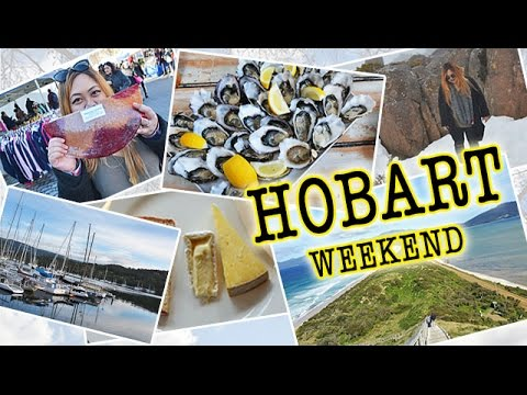 HOBART Weekend Getaway! | Travel Vlog