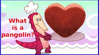 What Is A Pangolin? Valentine's Day 2017 (day 1) Google Doodle | Qpt