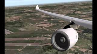 X-Plane 9 ZBAA-ESSA VATSIM
