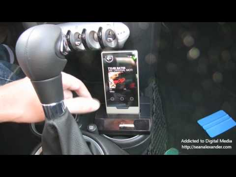 Zune HD in Car Integration with AV Pack
