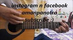 Yaaron Dosti Badhi Hi Haseen Hai - Happy Friendship Day- Hindi Guitar cover lesson chords