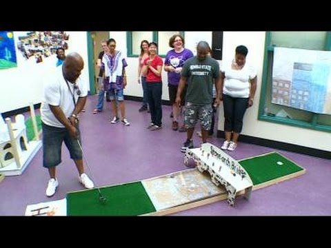 students-learn-math,-science-by-creating-a-mini-golf-course