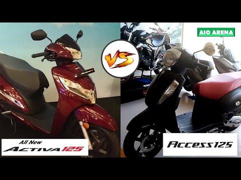 2020 Activa 125 BS6 is better than Suzuki Access 125 - [Specification Comparison]