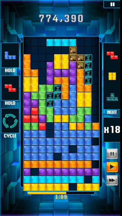Youtube Gaming L Application Enfin Disponible En France: Tetris Blitz Awesome Game Play Score: 5,000,000+