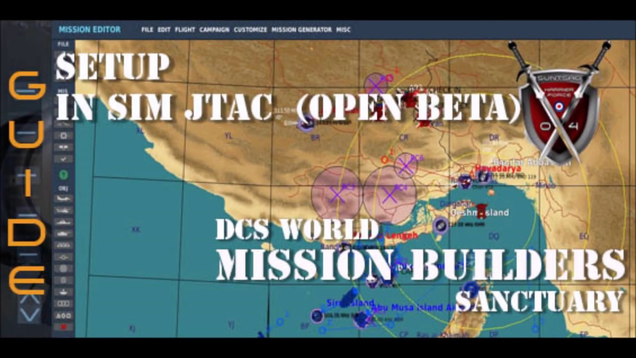 Setup In Sim JTAC - DCS Mission Editor