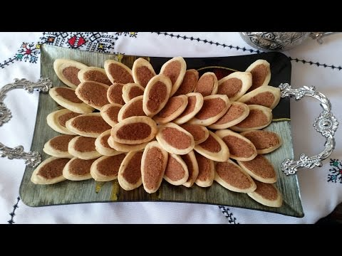 Moroccan Peanut Cookies - الفقاص البلدي/حلوى البليغات بالكاوكاو - Biscuits Marocains Aux Arachides