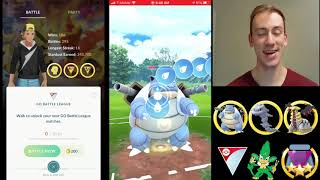 STEELIX IS A FREAKING WALL | Rank 10 Pokemon Go Battle League PvP