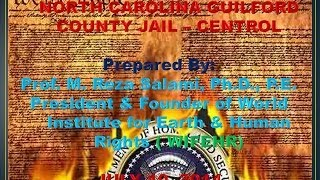 Immediate End to Torture & Inhumanity in NC Guilford County jail Central