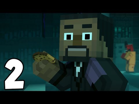 Minecraft Story Mode: Season 2 - Episode 3 - I'M IN THE GAME!! (2)