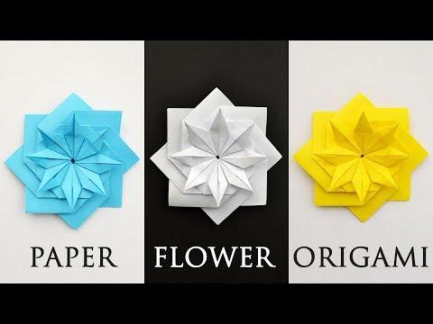 Beautiful Flower Lotus | Paper Modular Origami Tutorial DIY