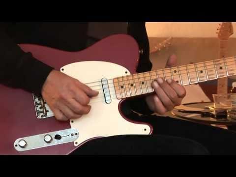 Fender Custom Shop 54 Telecaster + Jewel-Drive Part1