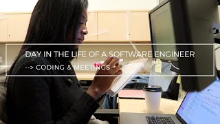 Day in the Life of a Software Engineer (Coding & Meetings) | Career Health
