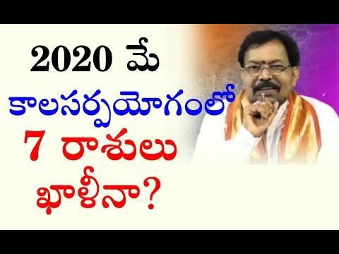 2020 మే కాలసర్పయోగంలో 7 రాశులు ఖాళీనా ?   Pranati Television