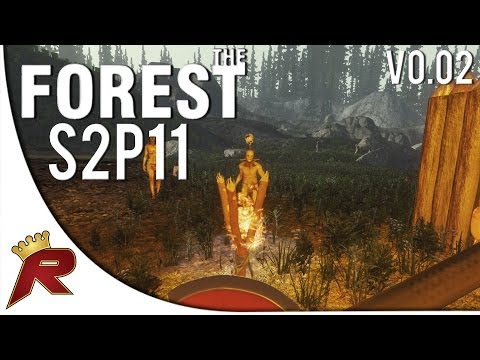 "The Forest Gameplay Survival - Part 11: ""A Second Base?"" (Alpha v0.02)"