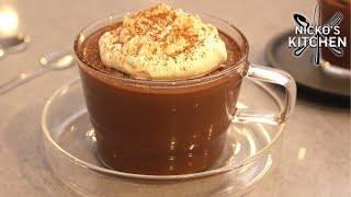 Chocolate + Coffee + Fudge = AMAZING!   Easy Dessert Recipe