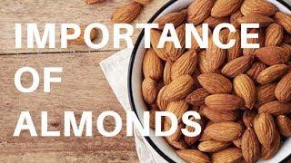 Health benefits of almonds | बादाम