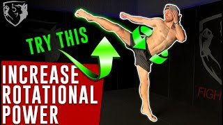 Want Quicker Rotation on Your Roundhouse Kicks?
