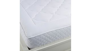 Concierge Collection Quilted Mattress Pad