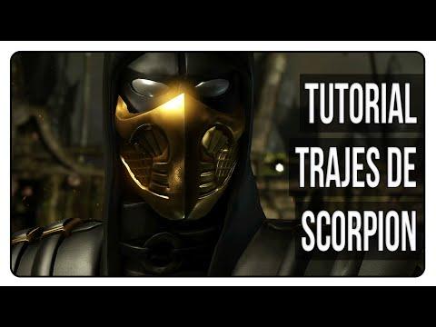 MKX   Desbloquear todos los trajes/skins de Scorpion   Tutorial