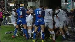 TOP14 - 13ème journée : La Rochelle / Castres : Début de générale après l'essai rochelais
