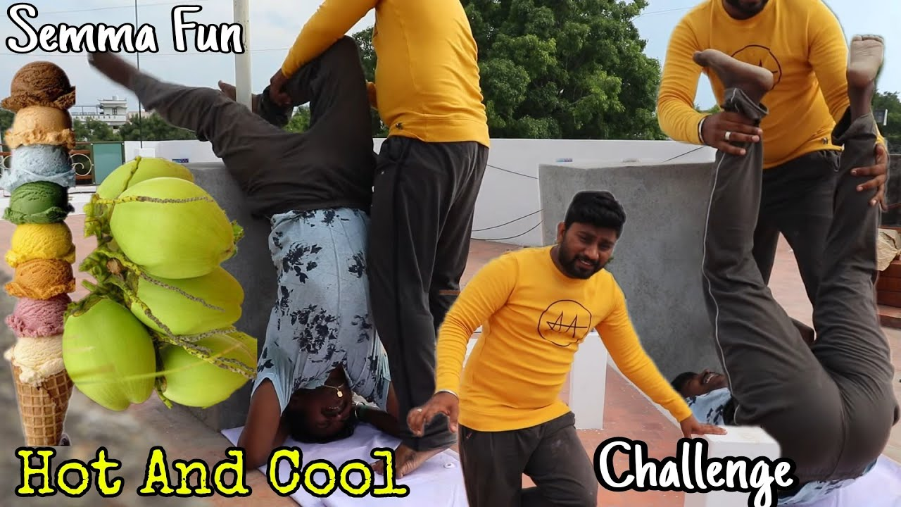 HOT🔥 & COOL CHALLENGE | Vera Level Fun | Eating Challenge Boys