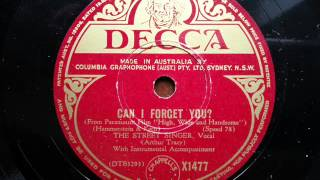 ARTHUR TRACY (THE STREET SINGER) - Can I Forget You-
