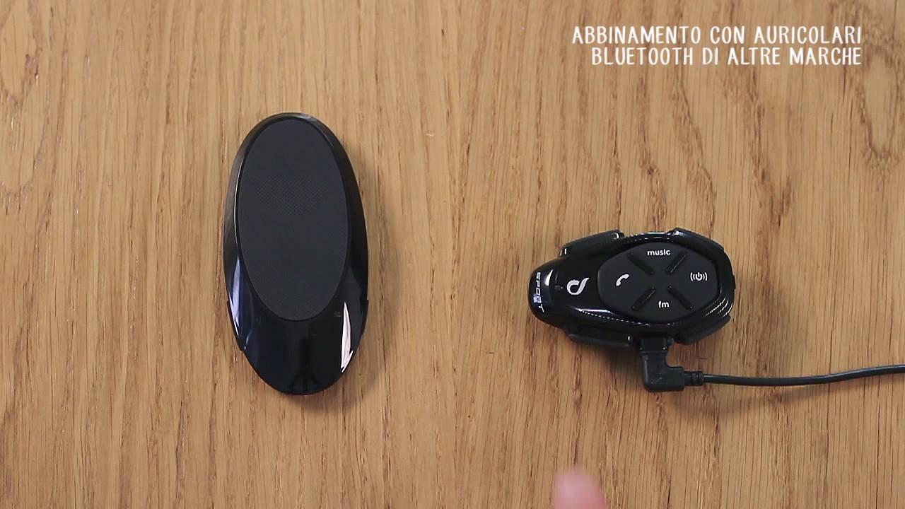Come connettere Interphone a Bluetooth di Altre Marche
