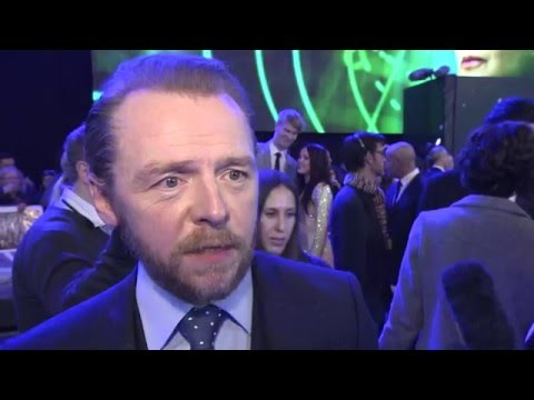 Star Wars The Force Awakens European Premiere Interview - Simon Pegg