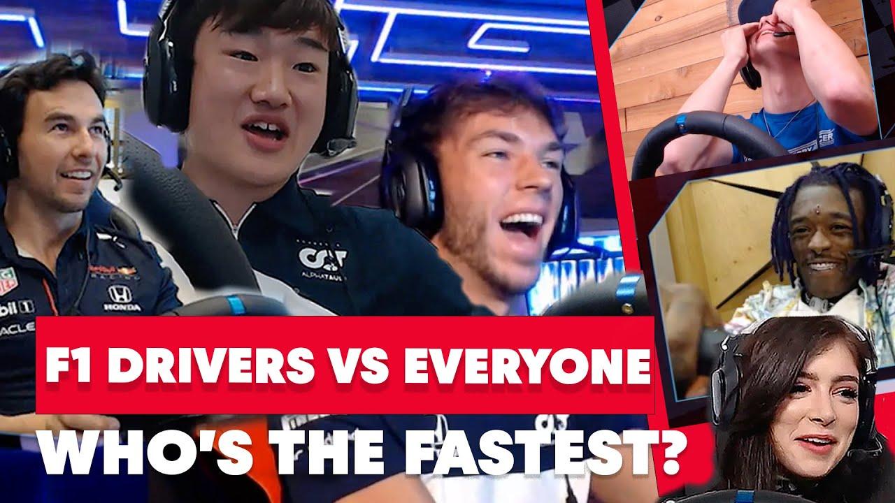 F1 Drivers Sergio Pérez, Pierre Gasly, Yuki Tsunoda vs. Everyone | Red Bull Homestretch Top 10