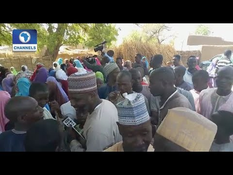 Jubilation In Dapchi Town As Abducted Girls Are Released