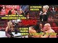 RAW 5 de Noviembre de 2018 - Análisis Picante / #RAW