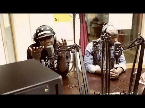 STONEBWOY INTERVIEW @ VOICE OF AFRICA ON RADIO FRO 105 0, LINZ, AUSTRIA