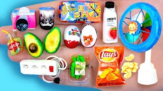 18 EASY REALISTIC DIY MINIATURE BARBIE IDEAS ~ Mini Kinder, Avocado, Lay's and more!
