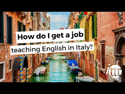 ITTT FAQs - How to find a job teaching English in Italy