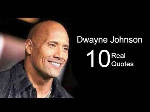 Dwayne Johnson 10 Real Life Quotes on Success | Inspiring | Motivational Quotes