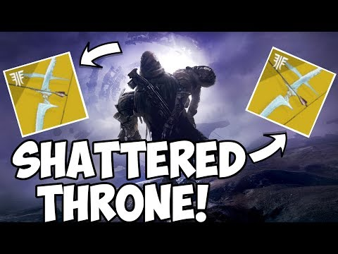 Destiny 2 Forsaken |  Shattered Throne Carries! Anyone Welcome! Pre-Birthday Stream! thumbnail