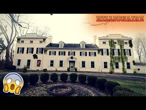 ABANDONED STRAWBERRY MANSION OF WILLIAM LEWIS!