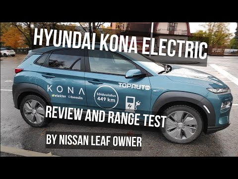 Hyundai Kona Electric - review and range test by Leaf owner